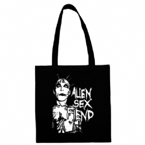 13 Head Alien Sex Fiend Tote Bag from Blue Crumb Truck